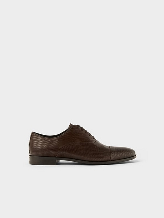 River Island Leather Brogues In Light Brown